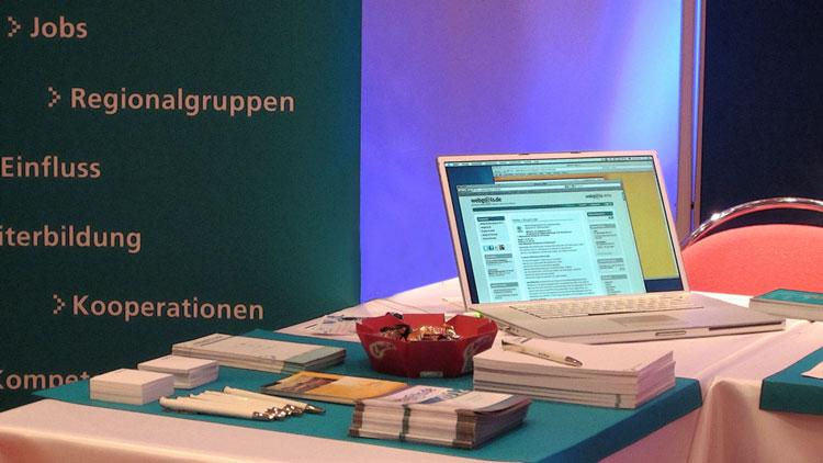 Webgrrls beim 1.Frauen-Businesstag in der IHK Köln